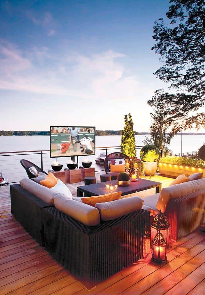 Complete Your Outdoor Space With A Weatherproof Television 3