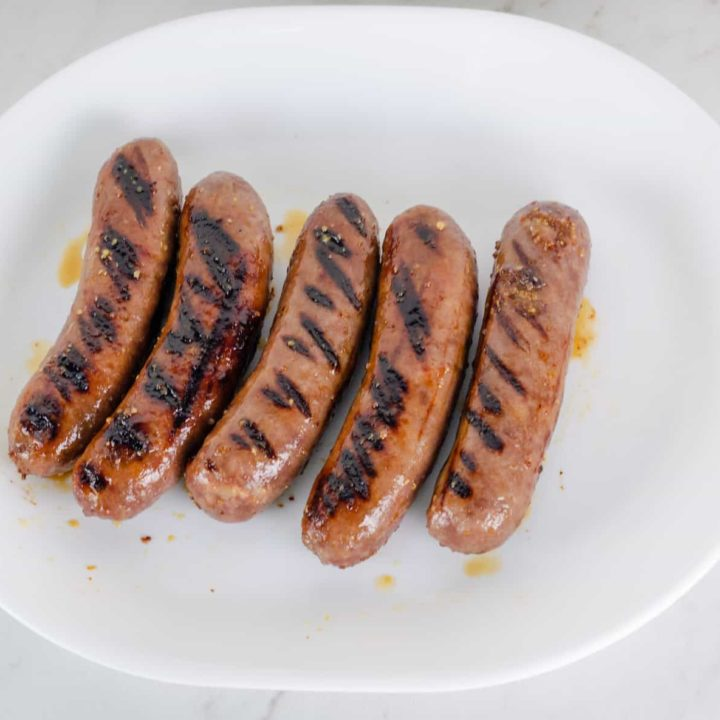 Honey Mustard Beer Glazed Bratwurst Recipe