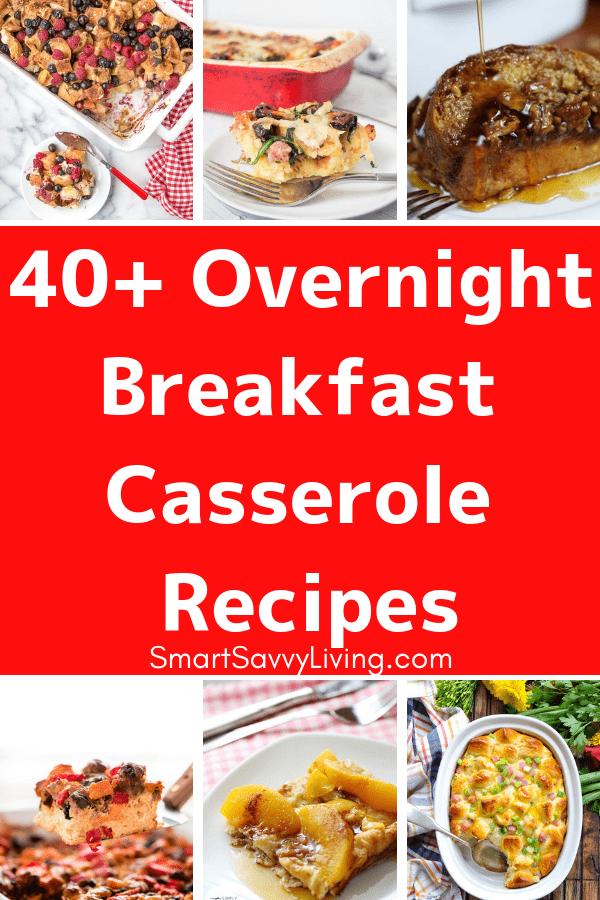 40+ Overnight Breakfast Casserole Recipes 1