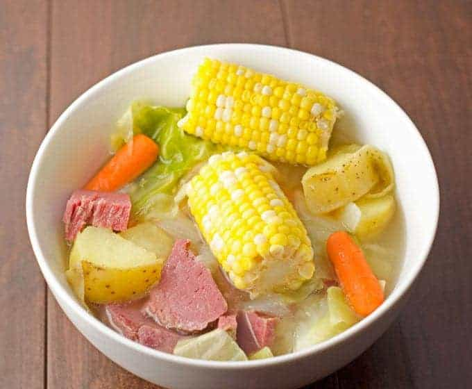 Easy Corned Beef Dinner With Vegetables Recipe 1