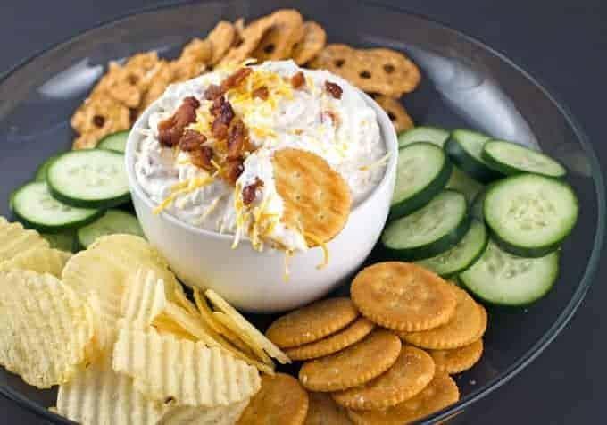 Creamy Cheesy Bacon Ranch Dip Recipe 2
