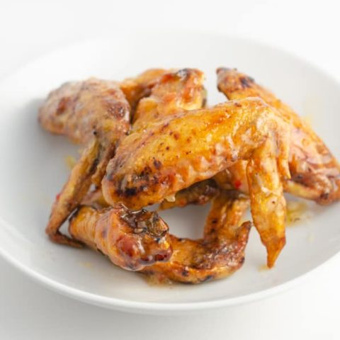 Crispy Pineapple-Habanero Chicken Wings Recipe