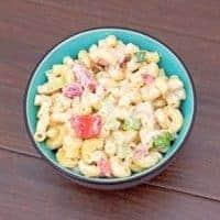 Macaroni Salad with Cucumber and Radish Recipe