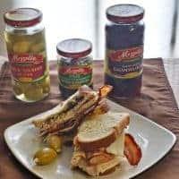 Mediterranean Turkey Club Sandwich