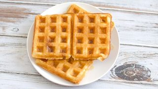Overnight Yeasted Waffles Recipe