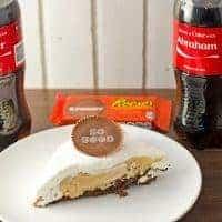 Peanut Butter Pie with Brownie Crust Recipe