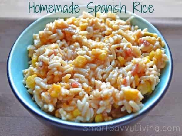 Homemade Spanish Rice 1