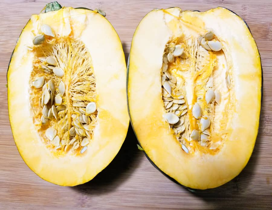 Baked Acorn Squash Recipe With Brown Sugar 2