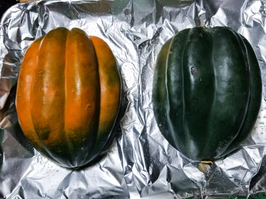 Baked Acorn Squash Recipe With Brown Sugar 4