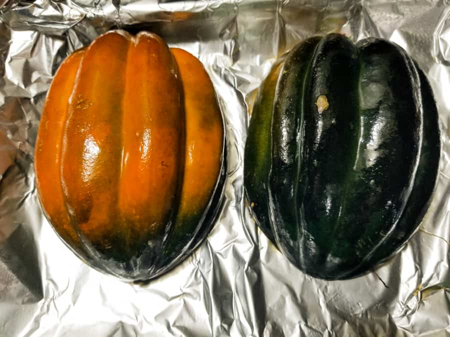 Baked Acorn Squash Recipe With Brown Sugar 5