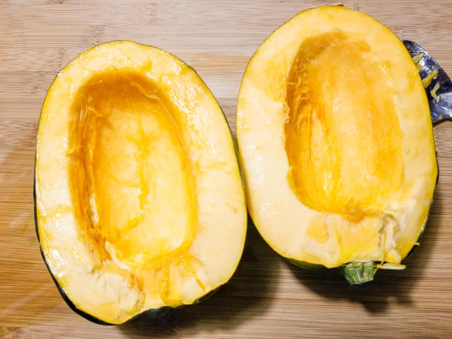 Baked Acorn Squash Recipe With Brown Sugar 3