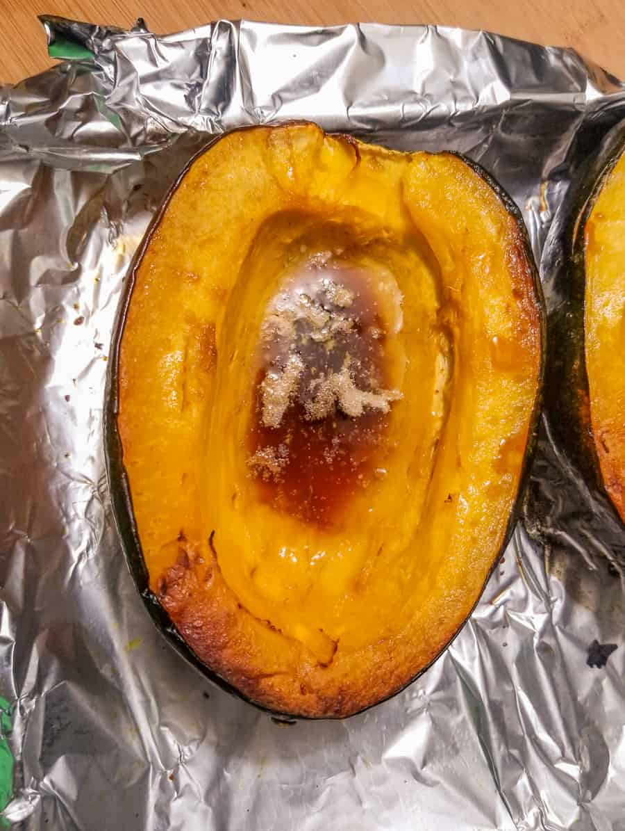 Baked Acorn Squash Recipe With Brown Sugar 7