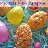 Butterscotch Rice Krisipies Eggs Recipe