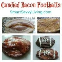 Candied Bacon Footballs
