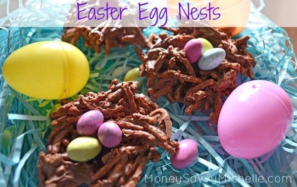 Easter Egg Nests Recipe 1