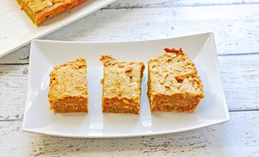 Pumpkin Chocolate Chip Blondies Recipe 3