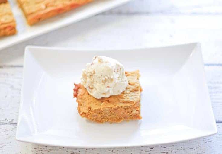 Pumpkin Chocolate Chip Blondies Recipe 4