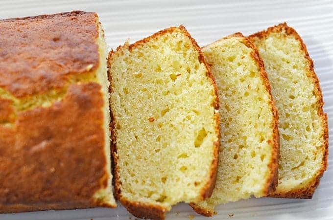Olive Oil Sour Cream Pound Cake with Lemon Recipe 1