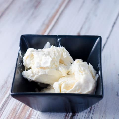 3 Ingredient Homemade Ice Cream Recipe Without an Ice Cream Maker