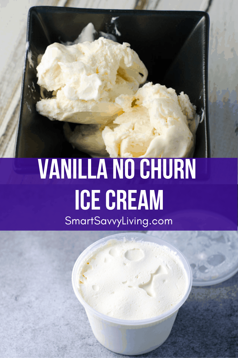 Vanilla No Churn Ice Cream Recipe 4