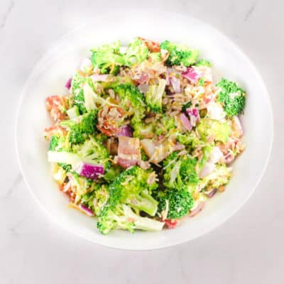 Broccoli Salad With Bacon And Cheese Recipe