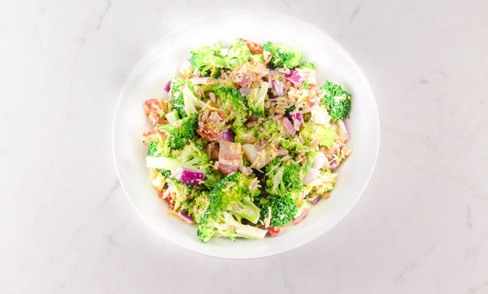 Broccoli Salad With Bacon And Cheese Recipe 1