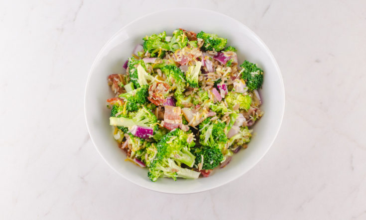 Broccoli Salad With Bacon And Cheese Recipe 3