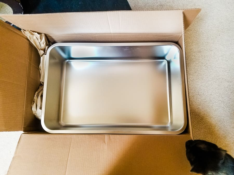 iPrimio Stainless Steel Litter Box and Litter Scoop Review 1