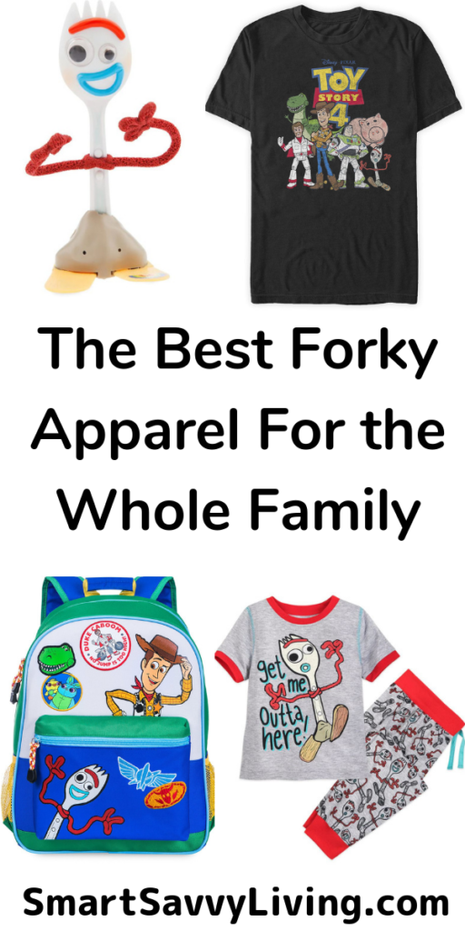 The Best Toy Story 4 Forky Apparel The Whole Family Will Love