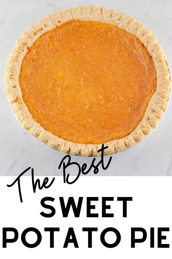 The Best Sweet Potato Pie Recipe photo made for pinterest