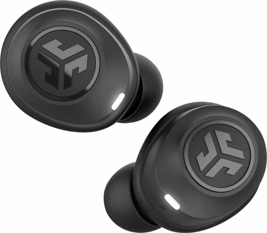 JLab Headphones - Wireless Headphones For Under $100 - photo of in ear buds on white background