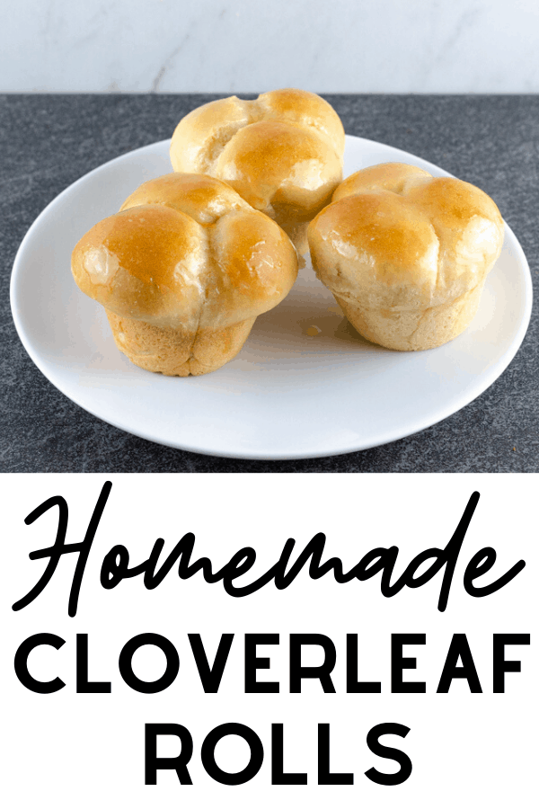 Homemade Cloverleaf Rolls Recipe - an easy recipe for homemade rolls that looks super impressive. A must-have for Thanksgiving, Christmas, or any special occasion meal.  #baking #rolls #bread #breadrecipes #homemade #recipes