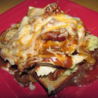 Daddy's Kentucky Hot Brown Sandwich