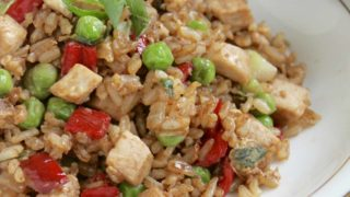 Leftover Turkey Fried Rice Recipe