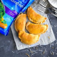 Spiced Turkey-Vegetable Hand Pies – Leftover Turkey Hand Pies