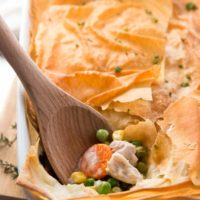 Healthy Easy Turkey Pot Pie
