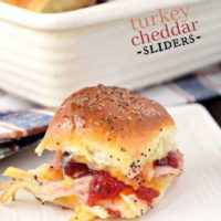 Turkey Cheddar Sliders
