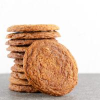 Crispy Ginger Molasses Cookies Recipe