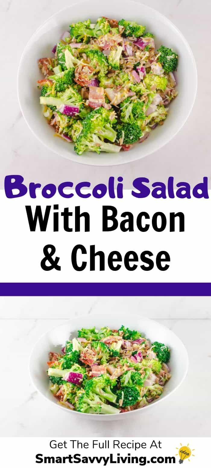Broccoli Salad With Bacon And Cheese Recipe 2